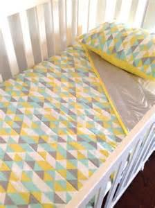 Nursery Bedding Sets Australia Cot Linen Goes Geometric With Alphabet Monkey