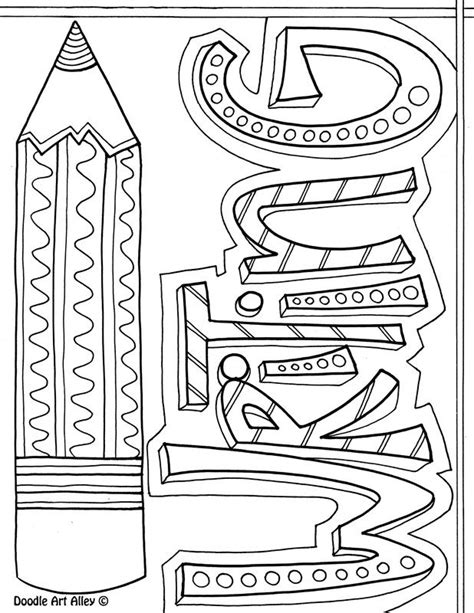 math journal coloring page cover pages for subjects awesome writing center ideas