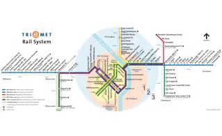 portland metro system map subway mapsof net