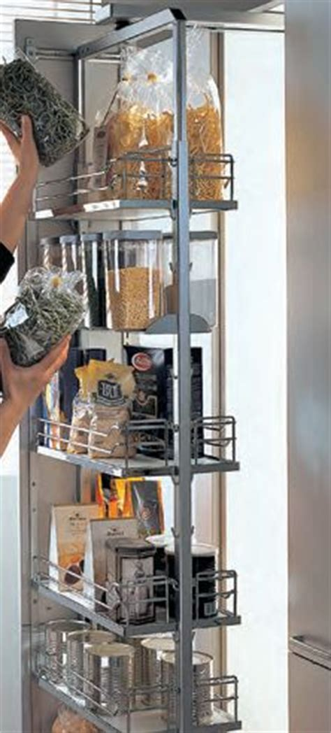 Hafele Pantry by Hafele Swing Pull Out Pantry In Chrome Clever Storage