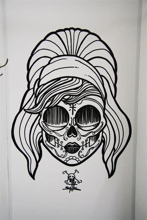 tattoo shops quincy sugar skull by quincy renon via behance designs