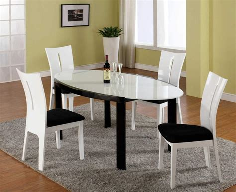 modern white dining room table modern oval dining tables