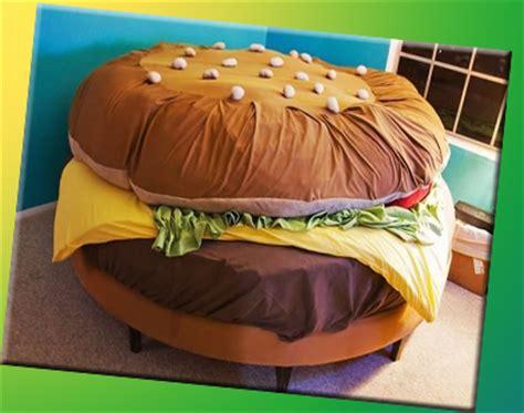 letto hamburger letti strani ma veri