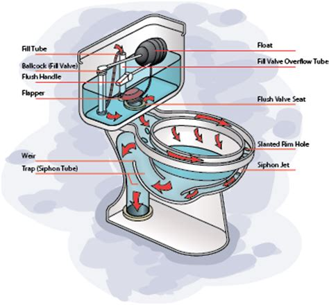 how does plumbing work how does a toilet work diy home how a gravity flow toilet works homewise plumbing
