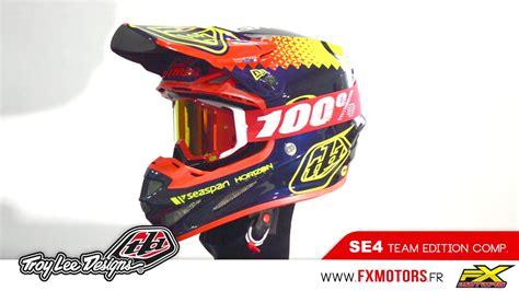 lee design indonesia troy lee designs se4 composite team edition doovi