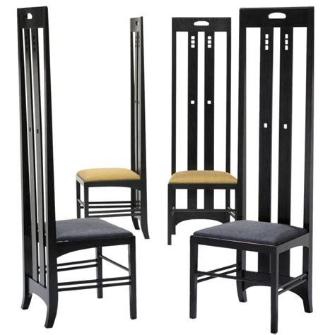 Art Deco Furniture Designers Ingram Street Tea Room Chairs Pair By Charles Rennie