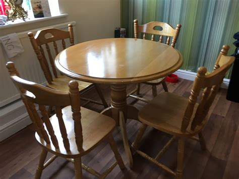 Dining Table And 4 Chairs For Sale For Sale Dining Table And 4 Chairs For Sale Buy And Sell Items In Dinnington Dinnington