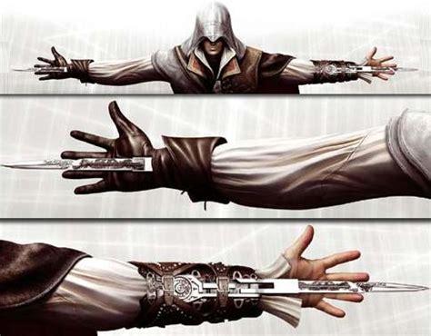 Assasin Creed Blade Ezio artifact planning phase other inspirations zealor