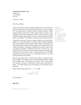 cover letters sharelatex online latex editor