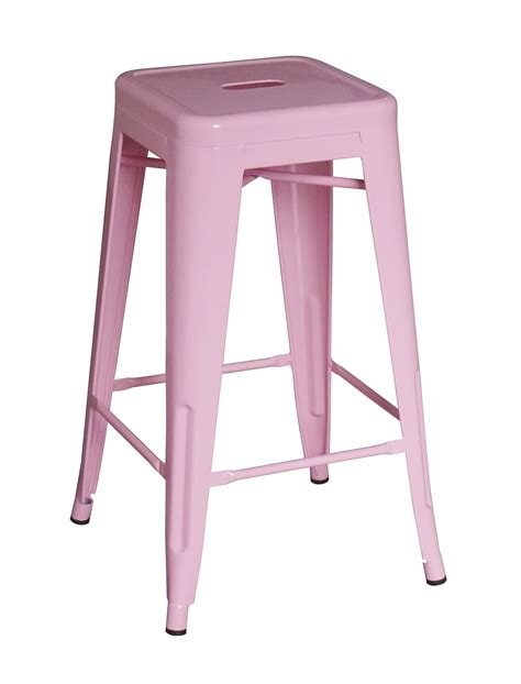 Light Pink Bar Stools by Elise Bar Stool 66cm Pink Zinzan Classic Design At