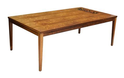 danish sofa table danish mid century modern rosewood tile sofa table the