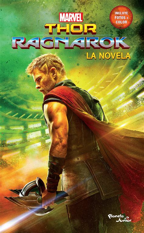 libro marvels thor ragnarok thor ragnarok la novela planeta de libros