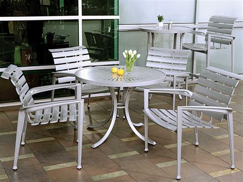 tropitone veer cast aluminum dining chair tp680824