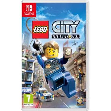 lego city undercover nintendo switch sur nintendo switch jeux vid 233 o achat prix fnac
