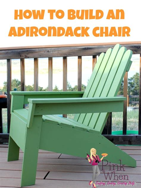 build your own adirondack chair woodworking projects plans