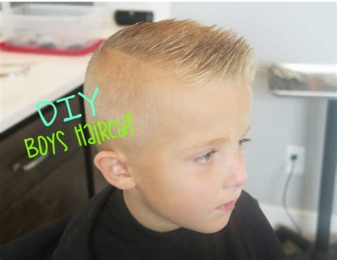 how to cut boys and kids hair at home diy boys haircut youtube