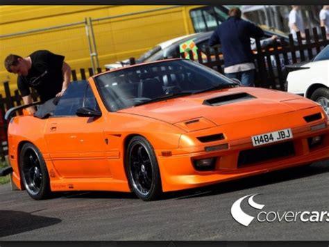 mazda rx7 orange and black rx7 convertible orange rx7 and convertible