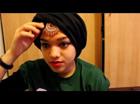 tutorial twisted turban fringe twist turban hijab tutorial how to save money and