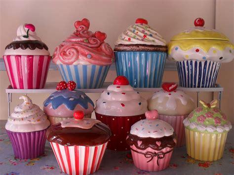 cupcake canisters for kitchen 2018 cupcake cookie jars kitchen cozinha decora 231 227 o cozinha cer 226 mica