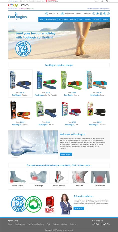 Home Designer Suite 2015 Ebay Footlogics Australia Custom Ebay Shop Template