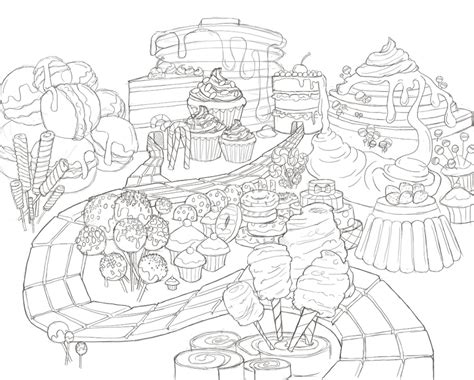 candyland castle coloring page candy land ske embroidery pinterest candy land