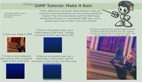 tutorial gimp drawing gimp tutorial how to make it rain by xadrea on deviantart