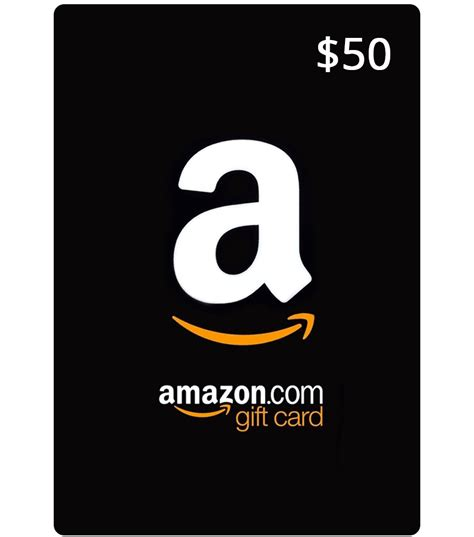 Amazon 50 Gift Card - amazon gift card us email delivery mygiftcardsupply
