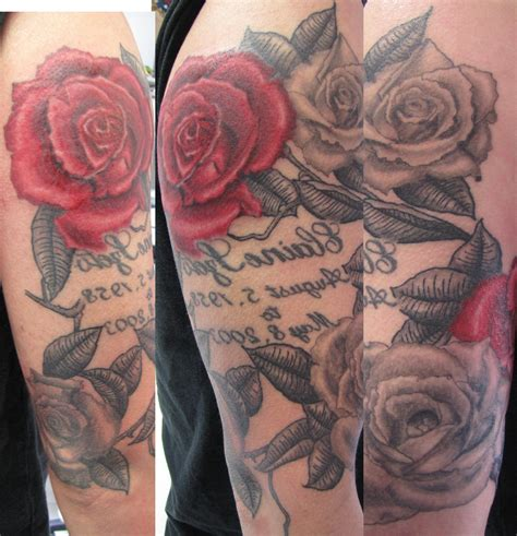 rose sleeve tattoo designs for men mens half sleeve