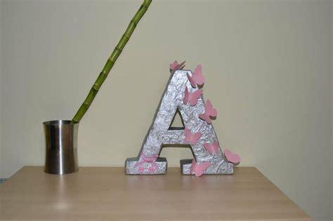 como decorar letras de madera de unicornio c 243 mo hacer letras de cart 243 n para decorar manualidades