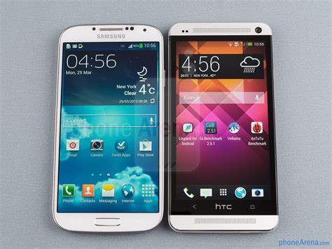 I Galaxy S4 samsung galaxy s4 vs htc one