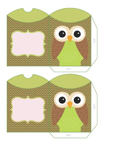 printable owl pillow pattern owls for sweet 16 free printable pillow boxes oh my