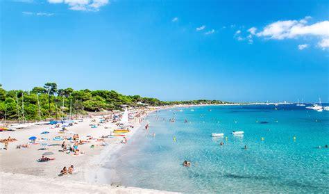 best beaches ibiza bronze your bod on ibiza s big beautiful beaches