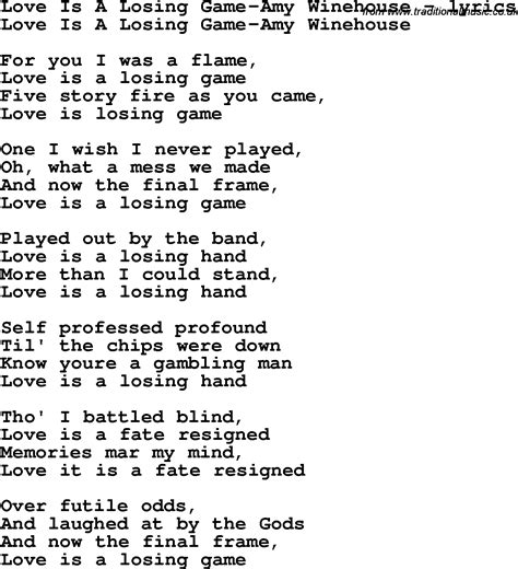 No Money Man Can Win My Love Lyrics - free download love is a game lyrics programs arcticrutor