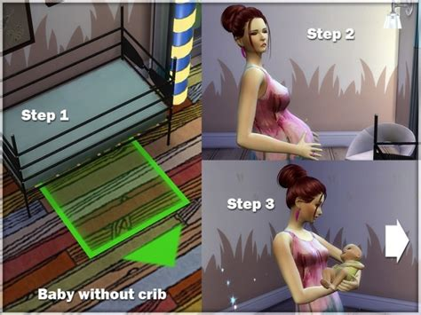 sims 4 baby custom content baby and crib at sims studio 187 sims 4 updates