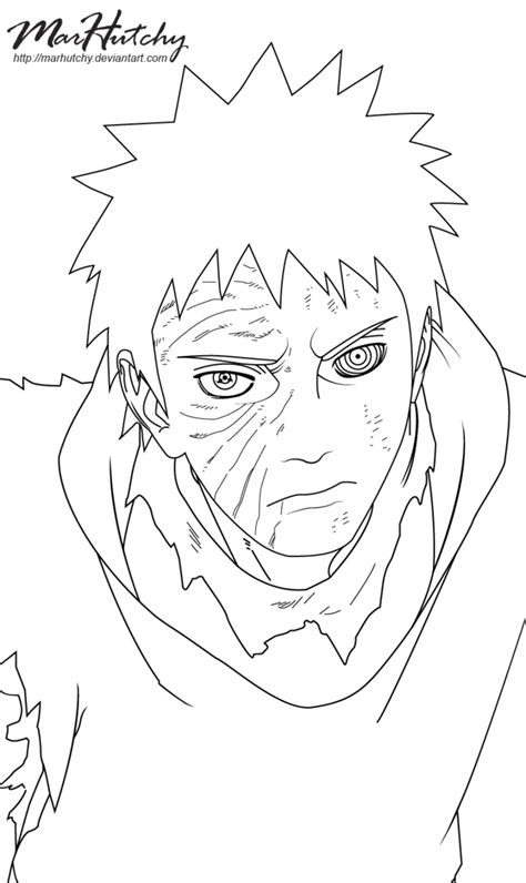 Obito Coloring Pages at GetColorings.com | Free printable