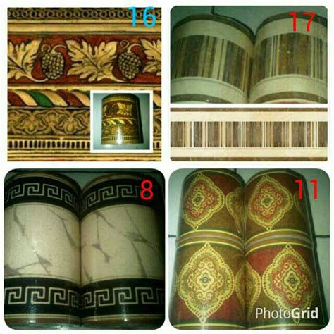 Wall Sticker Border Wall Border Motif List Dinding Kode 82 84 jual wallborder motif kayu border tembok border dinding wallpaper sticker pewangi loundry