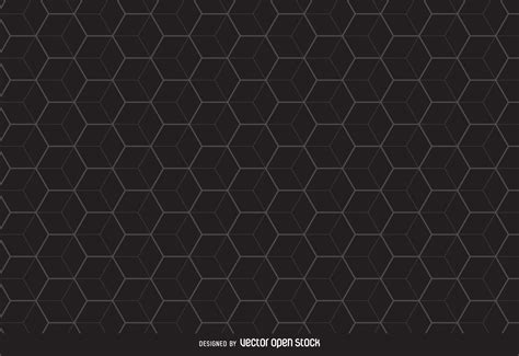 vector pattern hex linear hexagon pattern background vector download