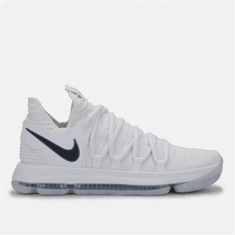 basketball shoe shop shop white nike kd 10 basketball shoe for mens by nike sss