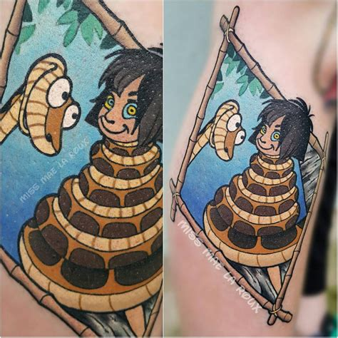 jungle book tattoo 10 colorful jungle book tattoos artist magazine