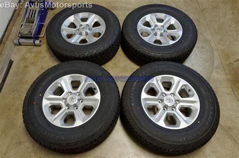 Oem Toyota Wheels 2015 Toyota 4runner Oem Factory 17 Quot Trd Wheels Sr5 Fj Land