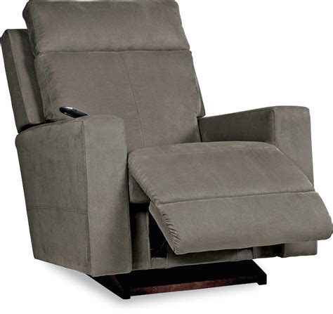 contemporary rocking recliner contemporary power recline xr rocking recliner by la z