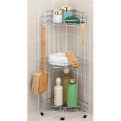 free standing corner shower caddy organization store