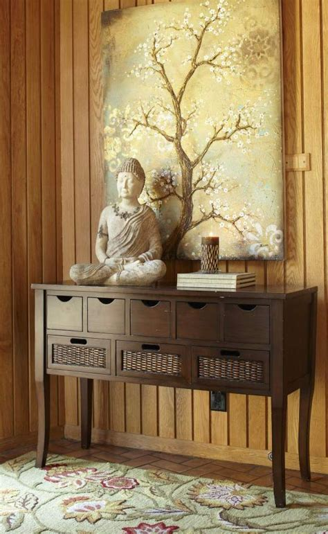 Buddha Bedroom Decor by Bring Serenity Into A Room By Combining Buddha Statues