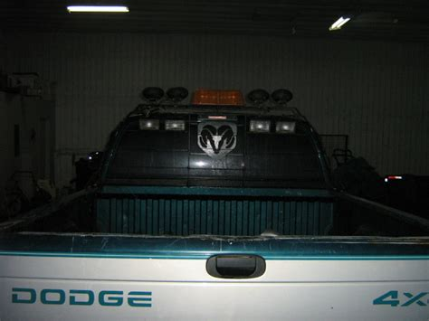 Lighted Headache Rack by Lighted Headache Rack Post Your Pics Page 2 Dodge