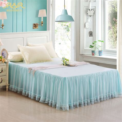 queen size bed skirts இromorus 2017 new beautiful princess princess lace bed