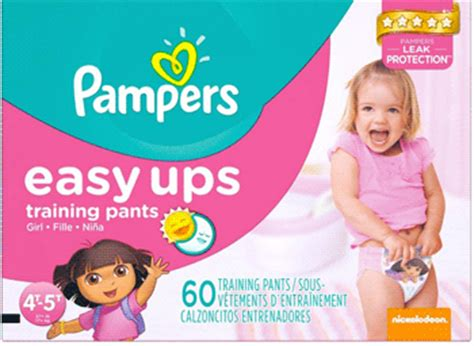 printable coupons pers easy ups pers easy ups training pants size 4t 5t super pack