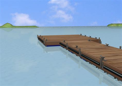 how to build a boat dock with plastic barrels waskito dharmo share build wooden floating dock