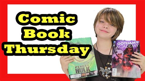 thursdays at eight a novel books comic book thursday planet 5 and gotham academy 10