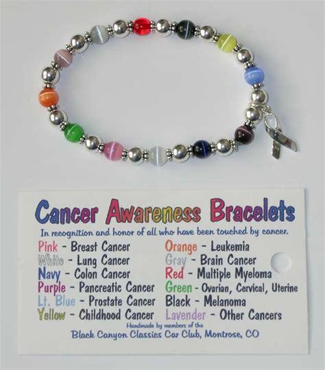 pkkindia cancer awareness bracelets