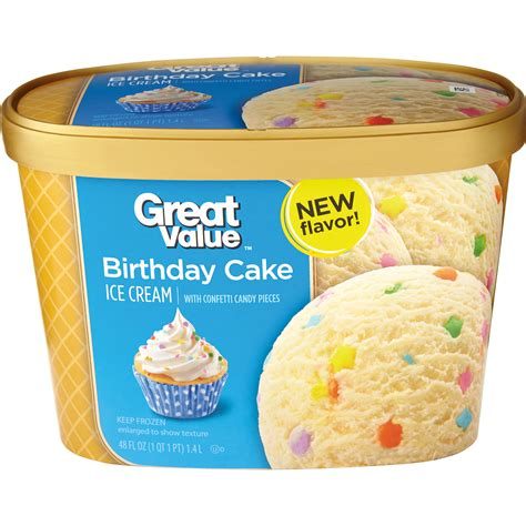 best birthday cake flavored ice cream popular cakes and